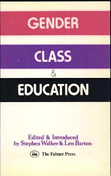 Gender  Class   Education PDF