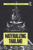 Materializing Thailand PDF