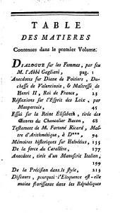 Tablettes d'un curieux: ou, Variétés historiques, littéraires et morales, Volume1