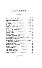 Ismael, an oriental tale, with other poems [ed. by GFilómousos@].