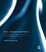 Law  Lawyers and Race PDF