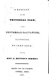 A descant on the universal plan, or, Universal salvation