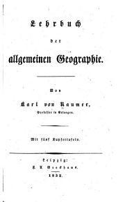 Lehrbuch der allgemeinen Geographie