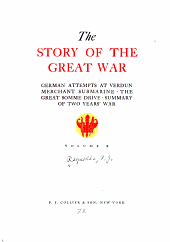 The story of the great war: with complete historical record of events to date, Volume 10