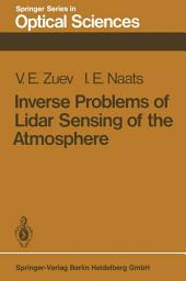 Inverse Problems of Lidar Sensing of the Atmosphere