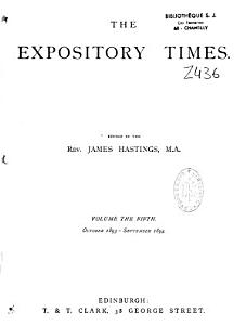 The Expository Times PDF