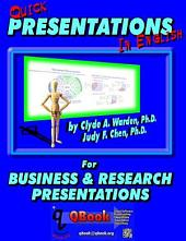 Quick Presentations in English: For Business & Research Presentations