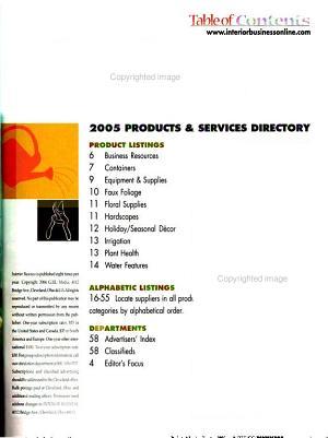 Interior Business for Landscape Professionals