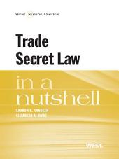 Sandeen and Rowe's Trade Secret Law in a Nutshell