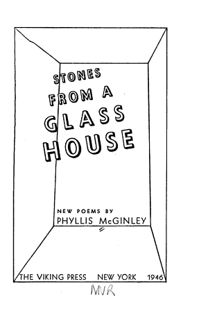 Stones from a Glass House PDF