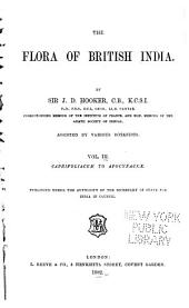 The Flora of British India: Volume 3