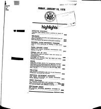 Federal Register Friday  January 16  1976