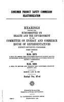 Consumer Product Safety Commission Reauthorization PDF