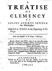 A Treatise of Clemency ... Done Into English by Sir Roger L'Estrange