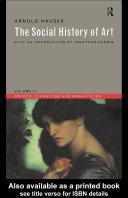 Social History of Art, Volume 3