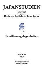 Japanstudien. Band 19/2007