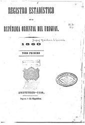 Registro estadístico de la República Oriental del Uruguay
