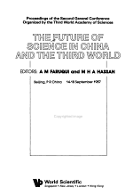 The Future of Science in China and the Third World