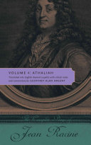 The Complete Plays of Jean Racine: Athaliah
