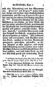 Catechetische Geschichte der Waldenser, Böhmischen Brüder, Griechen, Socinianer, Mennoniten, und anderer Secten: Volume 1