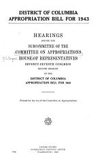 District of Columbia Appropriations for 1993