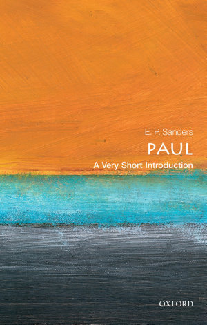 Paul  A Very Short Introduction