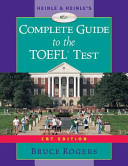 Heinle   Heinle s Complete Guide to the TOEFL Test PDF