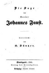 Die Sage von Doctor Johannes Faust