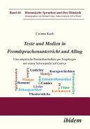 Texte und Medien in Fremdsprachenunterricht und Alltag PDF