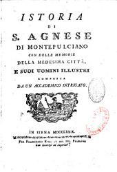 Istoria di S. Agnese di Montepulciano