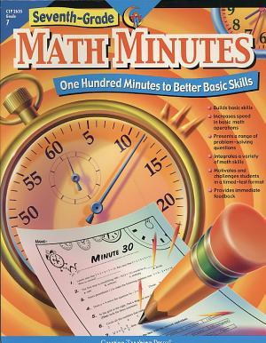 Math Minutes  7th Grade  eBook PDF