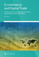 E-commerce and Digital Trade