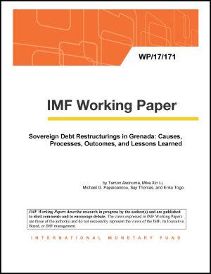 Sovereign Debt Restructurings in Grenada PDF