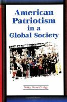 American Patriotism in a Global Society PDF