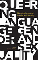 Queering Language  Gender and Sexuality PDF