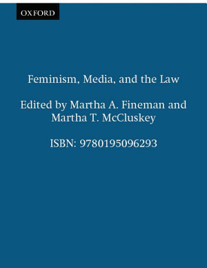 Feminism  Media  and the Law