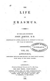 Appendix containing extracts from Erasmus and from other writers