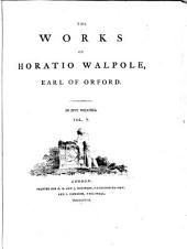 The Works of Horatio Walpole, Earl of Orford: Letters