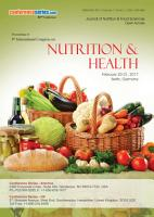 Proceedings of 9th International Congress on Nutrition   Health 2017 PDF