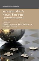 Managing Africa s Natural Resources PDF