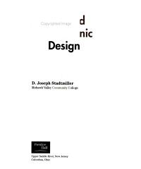 Applied Electronic Design PDF