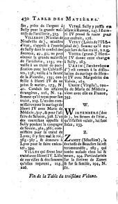 Mémoires de Maximilien de Béthune, duc de Sully, principal ministre d' Henri le Grand: Volume3