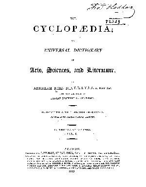 The Cyclop  dia  Text PDF