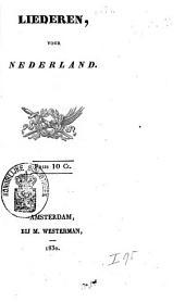 Liederen, voor Nederland