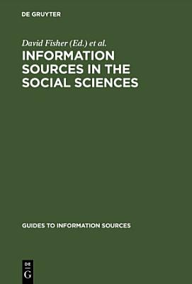 Information Sources in the Social Sciences PDF