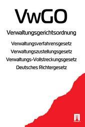 Verwaltungsgerichtsordnung - VwGO