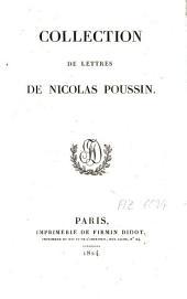 Collection de lettres de Nicolas Poussin