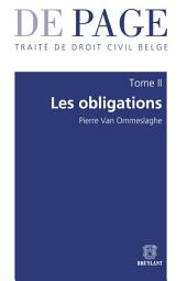 Traité de droit civil belge: Tome II : Les obligations. Volumes 1 à 3