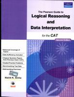 The Pearson Guide to Logical Reasoning and Data Interpretation for the CAT 2 e PDF