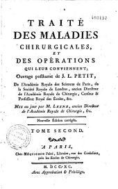 Traité des maladies chirurgicales: et des opérations qui leur conviennent, Volume1